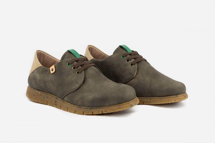 calzado casual vegano ecológico verde