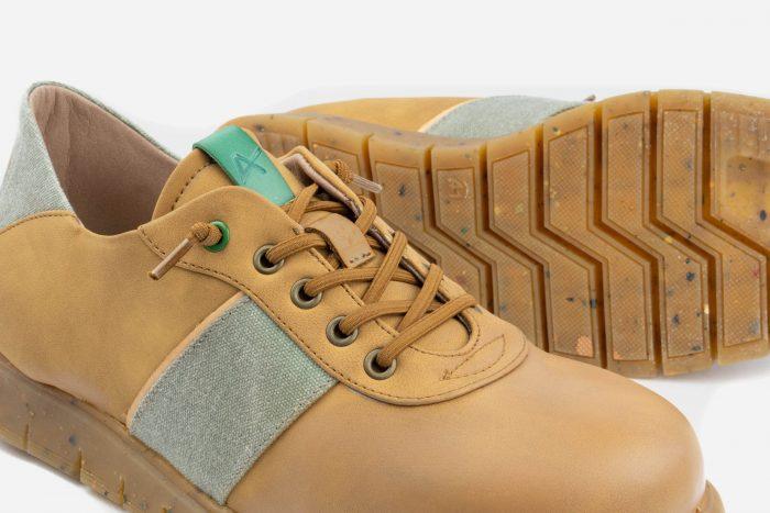 suela reciclada calzado hombre vegano