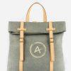 mochila ecológica verde