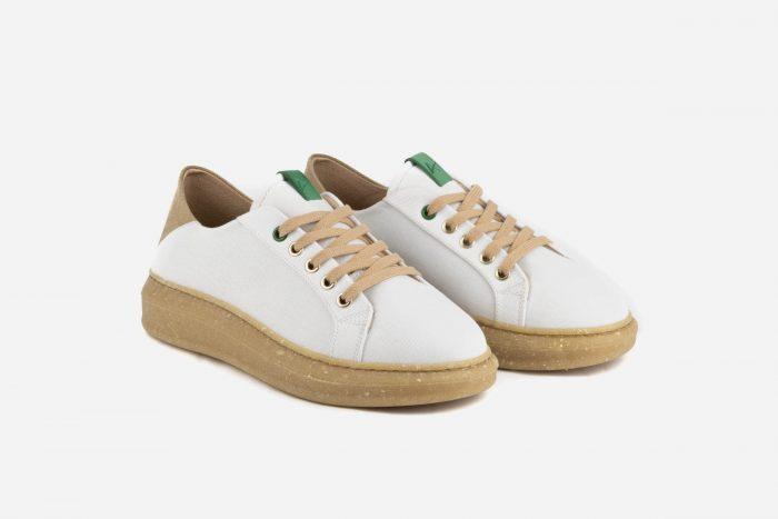 zapatillas ecológicas mujer blancas