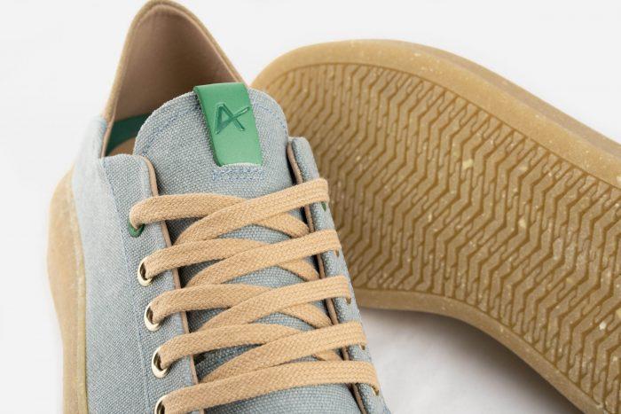 calzado vegano tejido sostenible reciclado